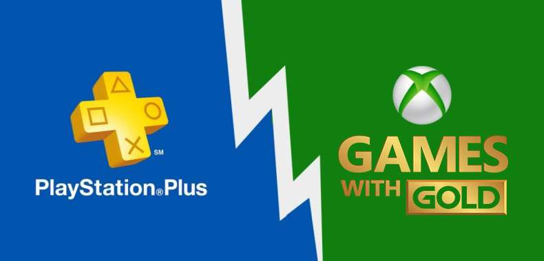 PlayStation Plus vs. Games With Gold - Maj 2019