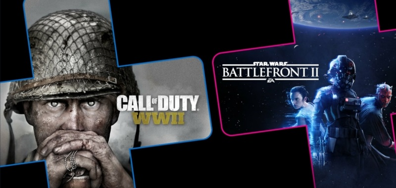 PS Plus z Call of Duty: WWII i Star Wars Battlefront 2. Która gra oferuje lepszą zabawę?