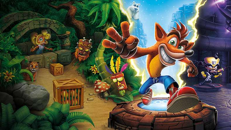 Crash Bandicoot N. Sane Trilogy - recenzja