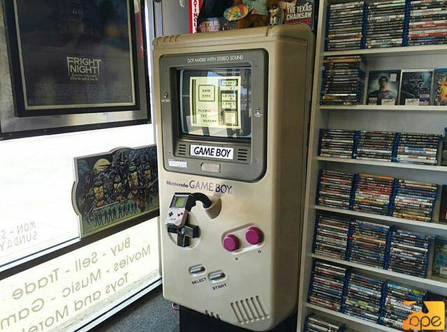 Game Boy station