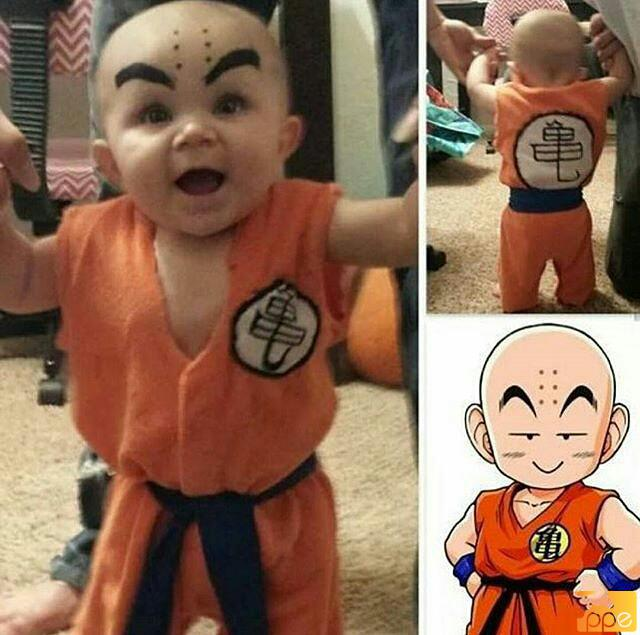 Perfect Krillin cosplay