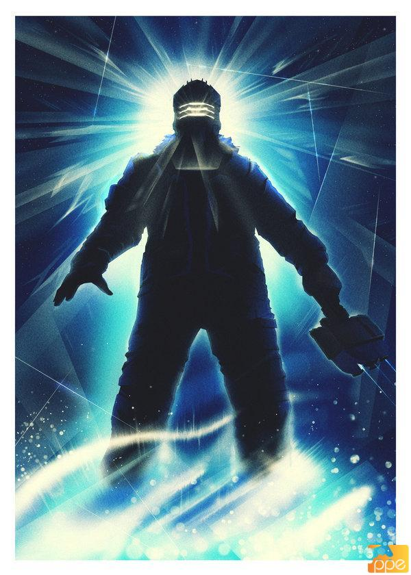 Dead Space jako plakat The Thing
