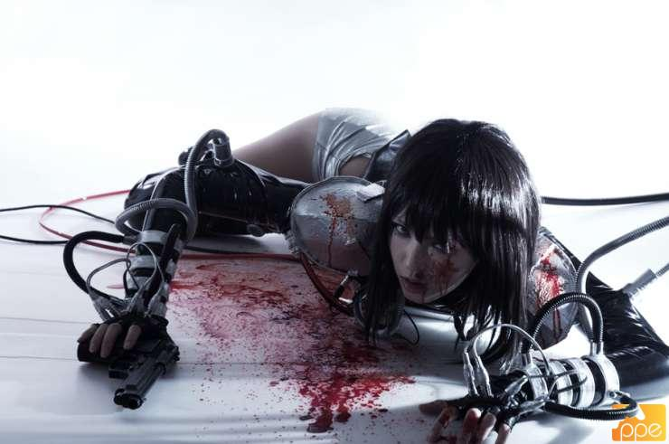 Motoko cosplay (ghost in the shell)
