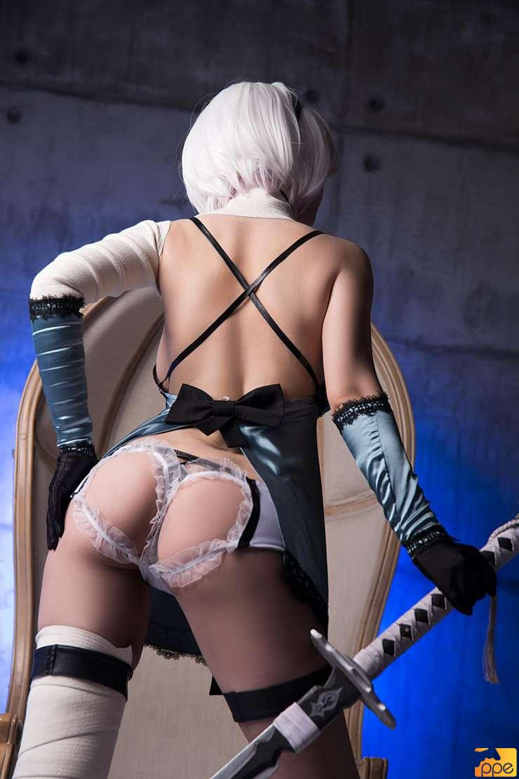 2B in Kaine outfit Cosplay