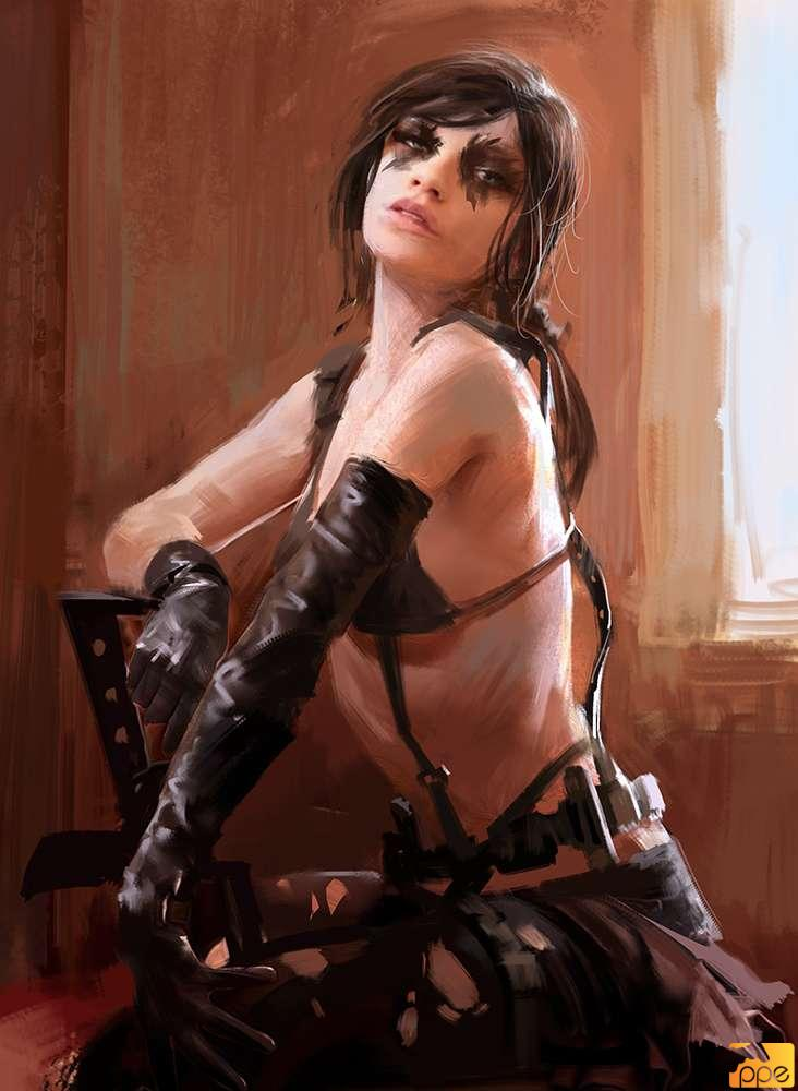 Quiet Art from MGSV