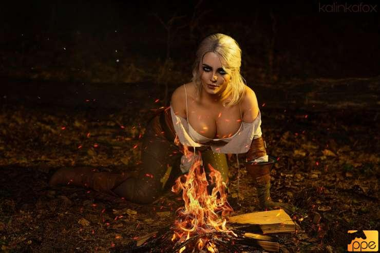 Ciri (Kalinka Fox) Cosplay!!