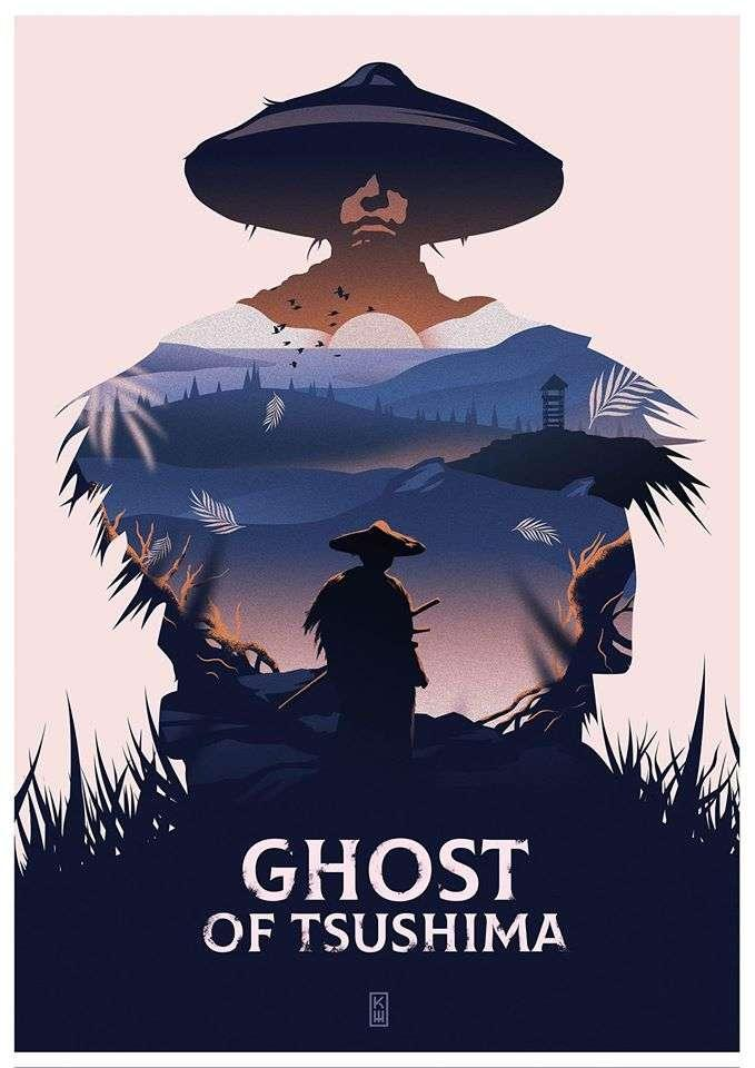 Ghost of Tsushima - Art