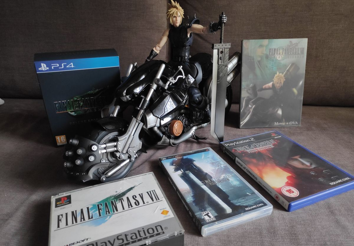 Hardy Daytona Final Fantasy VII Remake