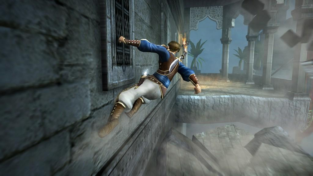 Prince of Persia: The Sands of Time - bieganie po ścianach