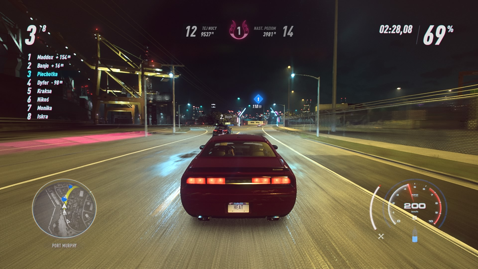 Need for Speed Heat - gameplay