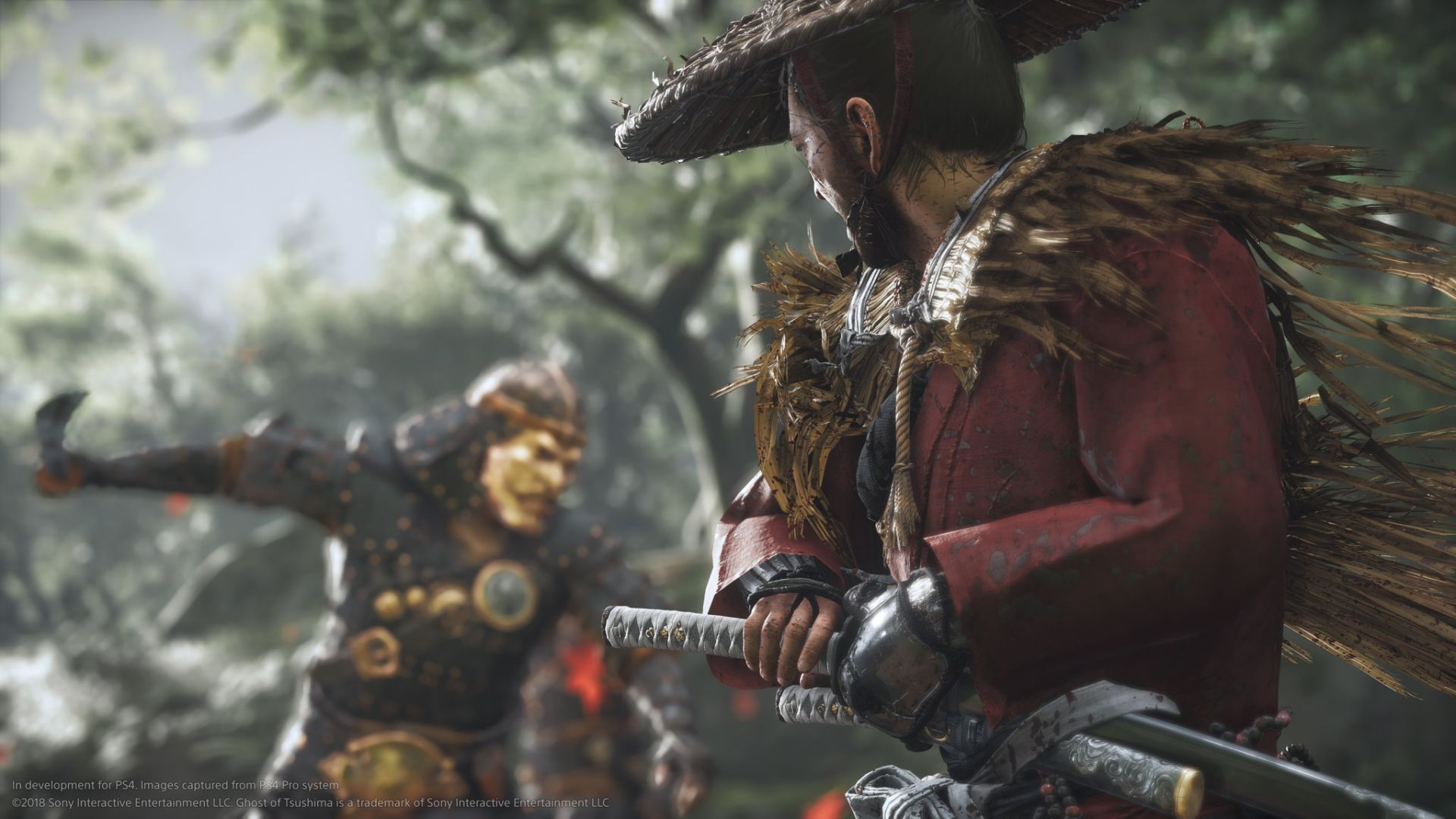Ghost of Tsushima Legends - katana