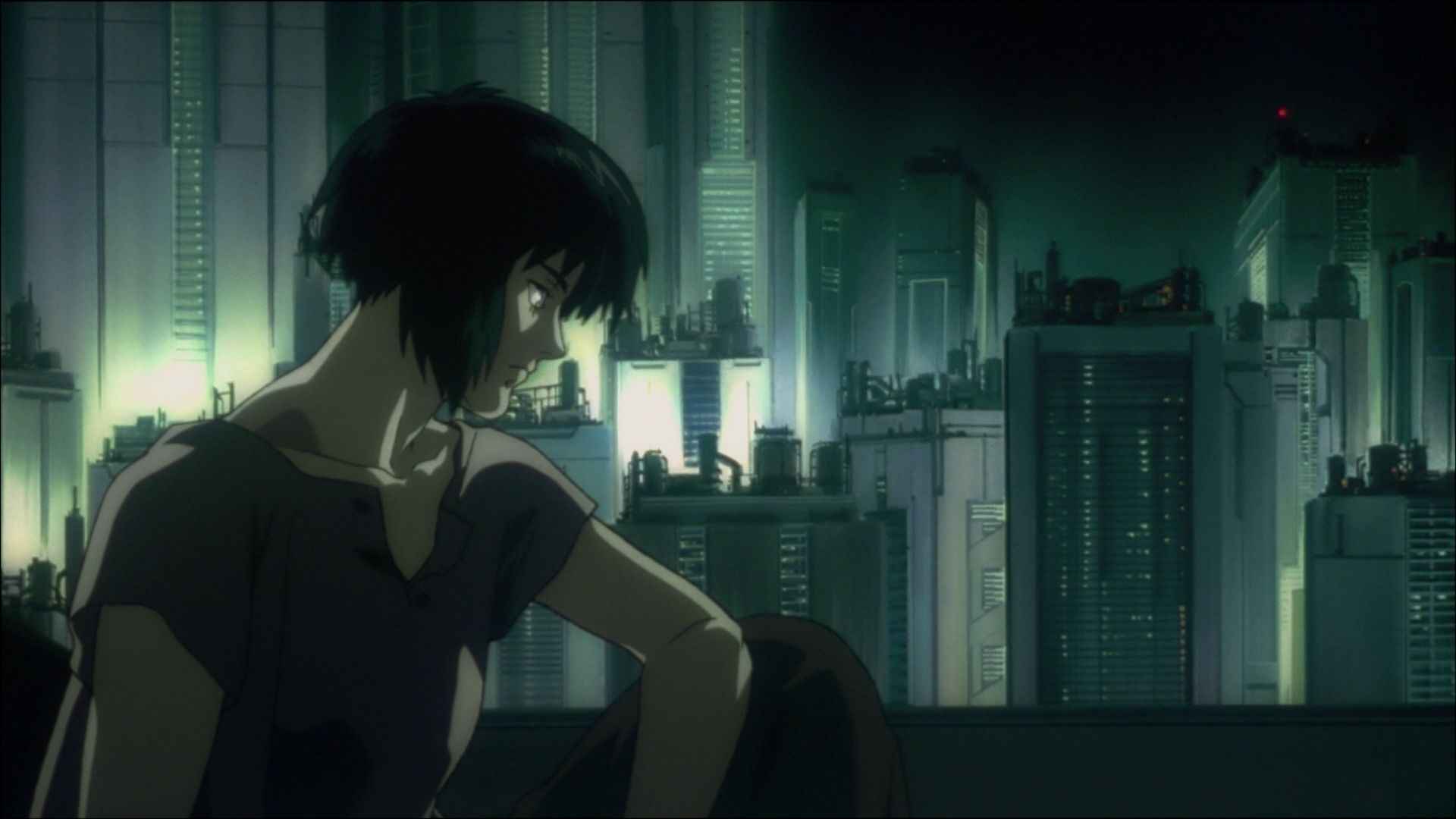 Ghost in the Shell (1995) – Filmy SF