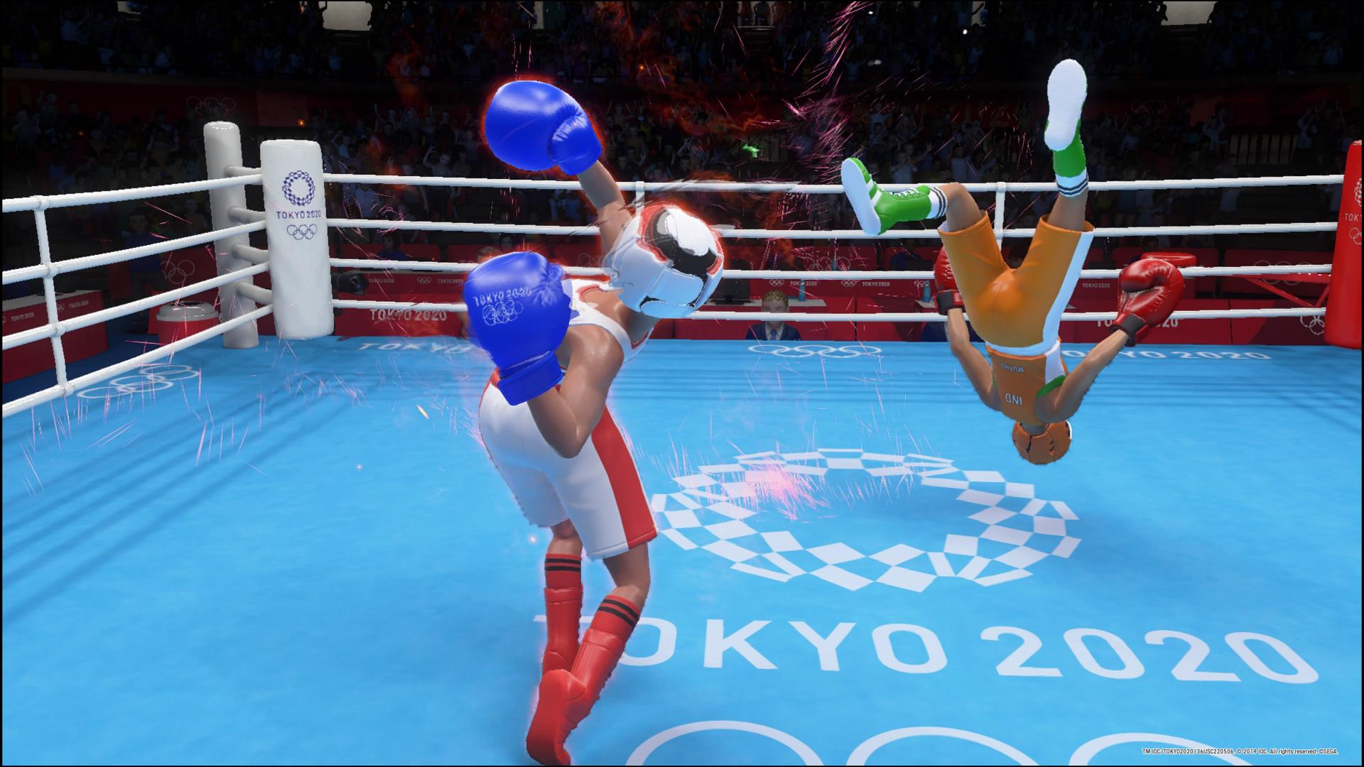 Olympic Games Tokyo 2020: The Official Video Game – recenzja i opinia o grze. Boks