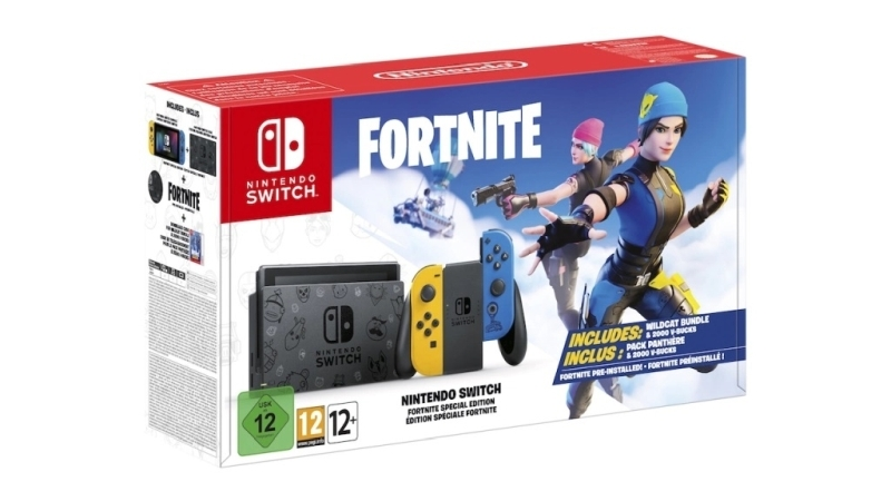 Nintendo Switch Fortnite Special Edition 1