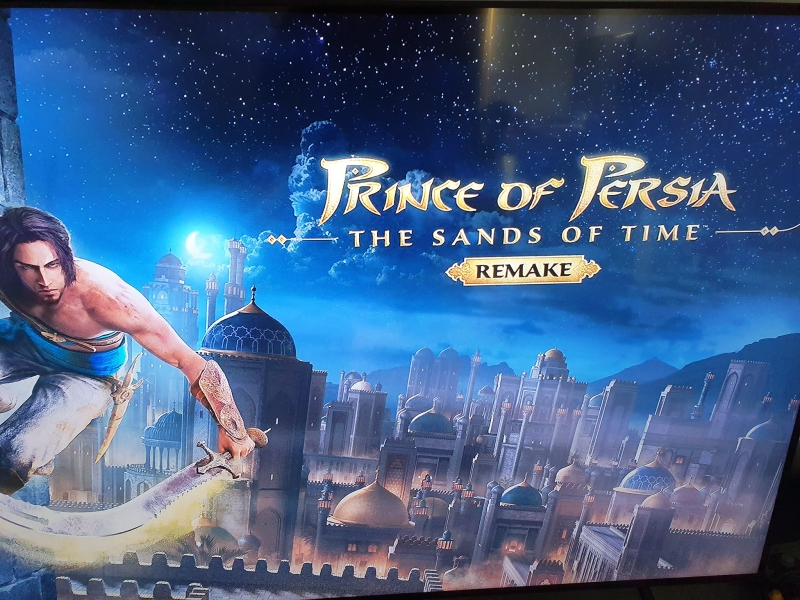 Prince of Persia The Sands of Time Remake 1