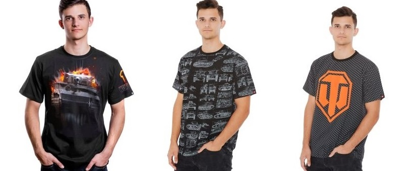 t-shirty World of Tanks zestaw
