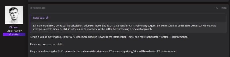 Xbox Series X ray tracing