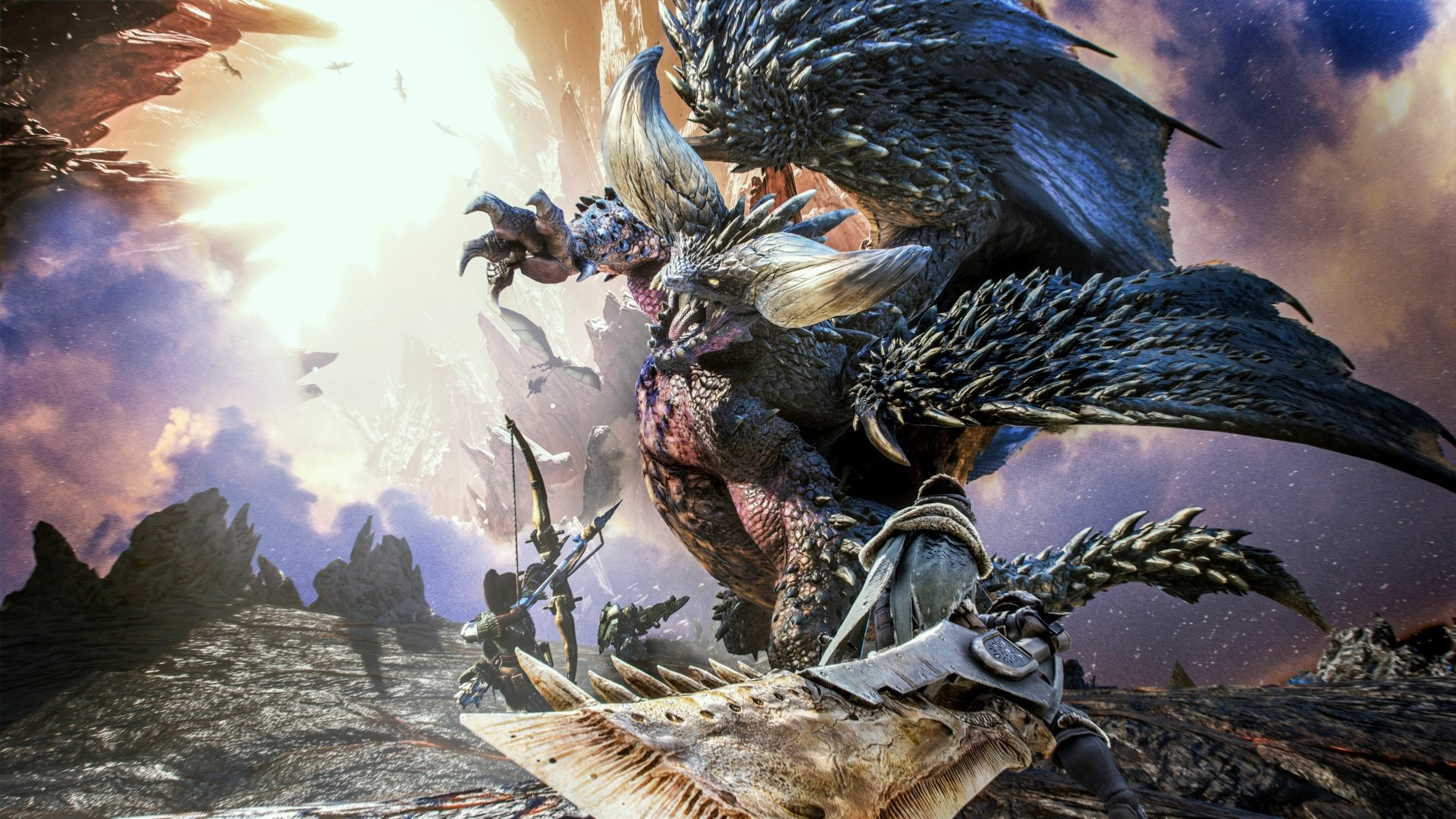 Monster Hunter World - najlepsze gry na kwarantannę
