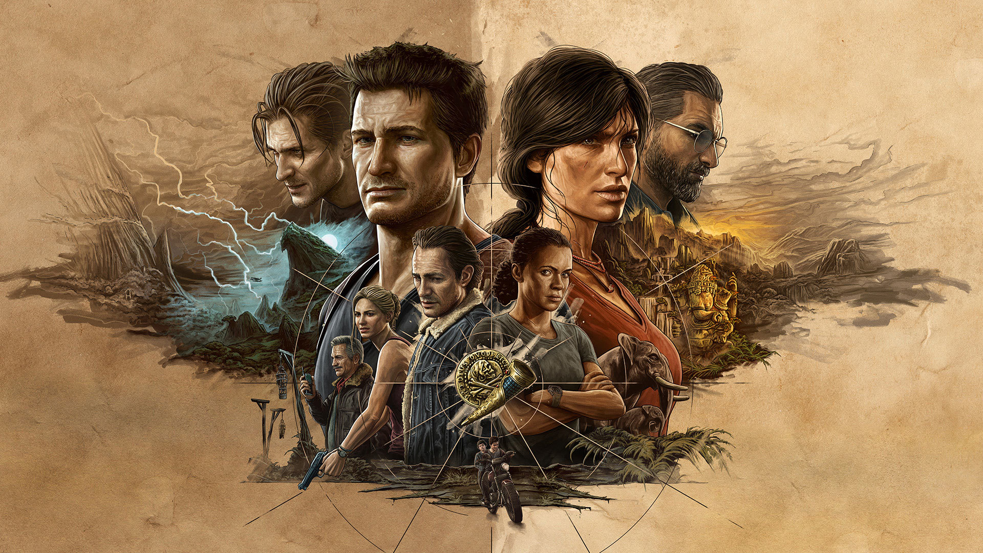Uncharted Legacy of Thieves Collection - okładka