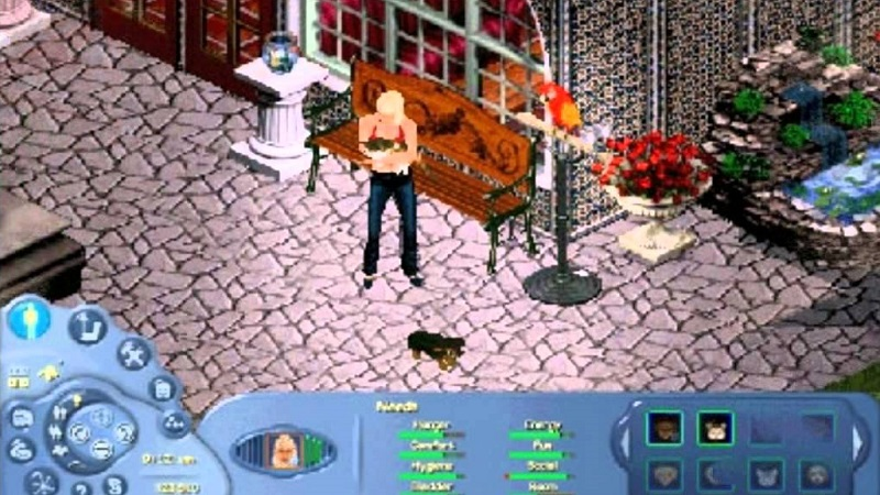 The Sims Online - najlepsze gry MMO