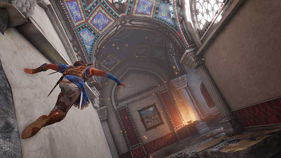 Prince of Persia: Sands of Time Remake - wall running