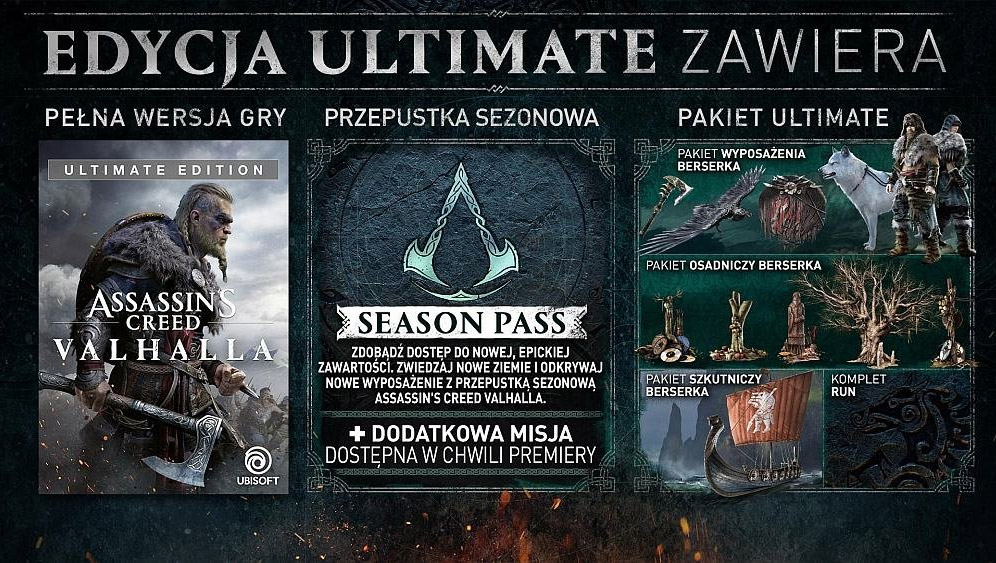 Assassin's Creed: Valhalla - Edycja Ultimate