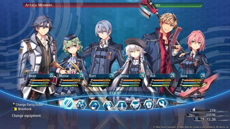 The Legend of Heroes Trails of Cold Steel III - recenzja 3