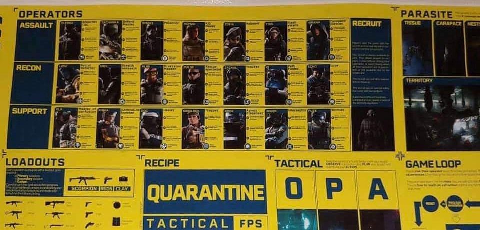 Rainbow Six Quarantine 1