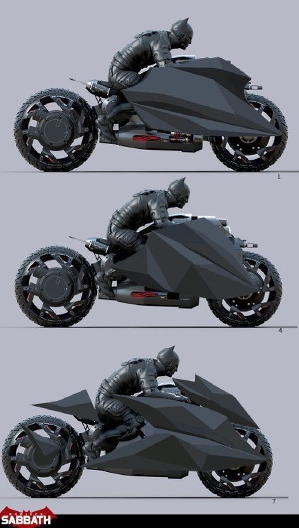 Batman Arkham Batcycle
