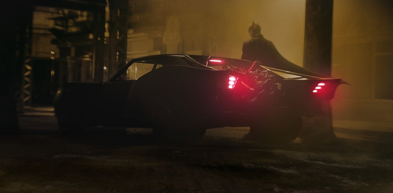 The Batmana - Robert Pattinson jako Batman i genialny Batmobile 2