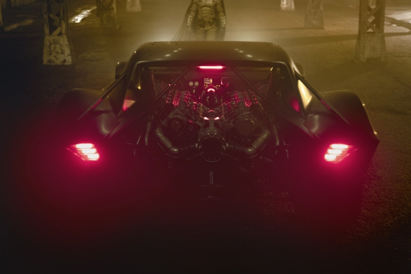 The Batmana - Robert Pattinson jako Batman i genialny Batmobile 3