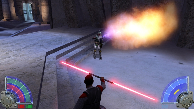 Star Wars Jedi Knight Jedi Academy screen 2