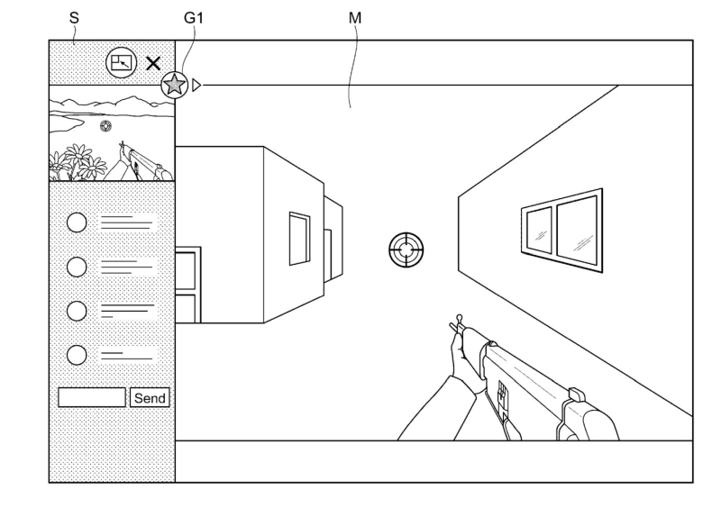 PS5 Sony Patent PIP - 1