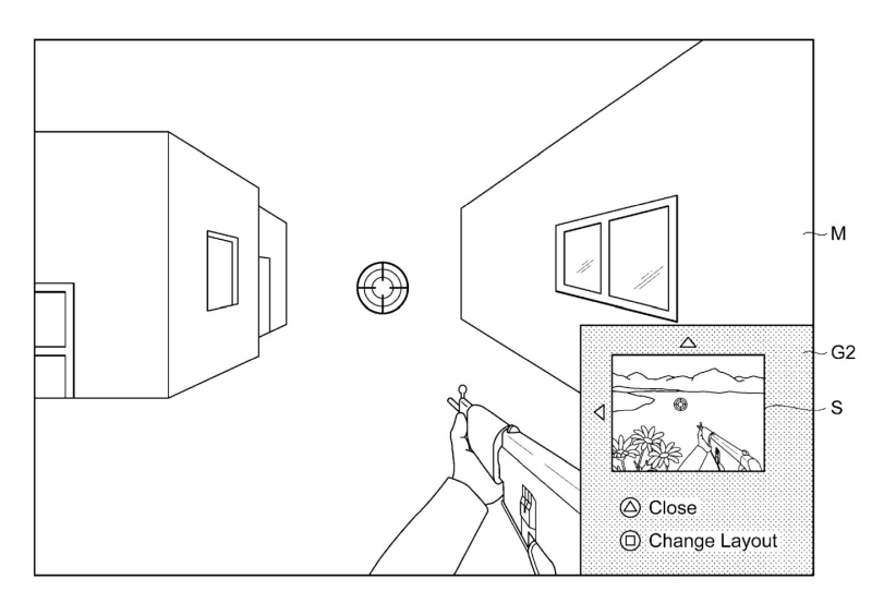 PS5 Sony Patent PIP - 2