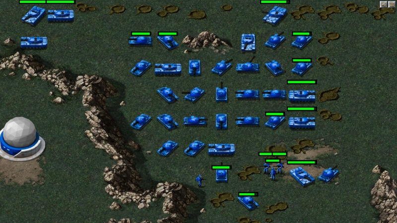 Command & Conquer Remastered Collection – walka niebieskich