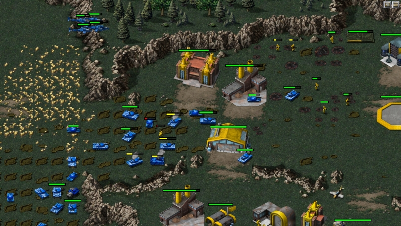 Command & Conquer Remastered Collection – starcie w bazie