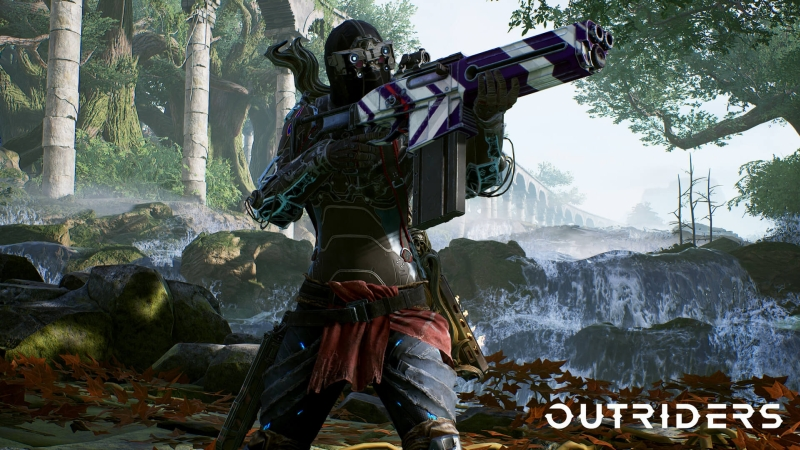 Outriders - playtest - jeden bbohater