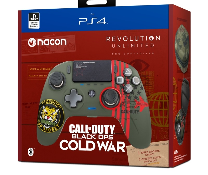 Nacon Revolution Unlimited Pro Controller x Call of Duty Black Ops Cold War 3