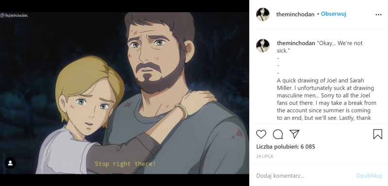 The Last of Us x Studio Ghibli - 2