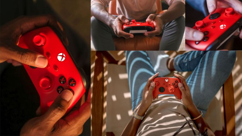 Xbox Pulse Red - 2