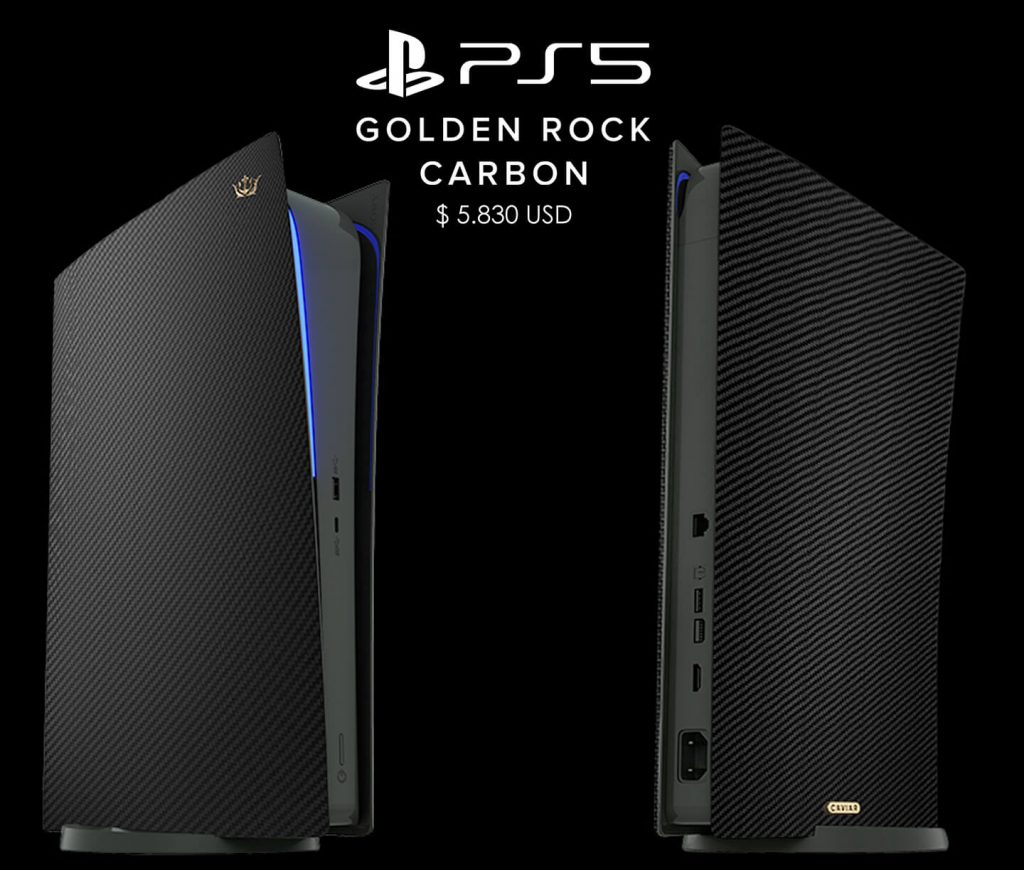 PS5 Limited Edition Golden Rock - 2