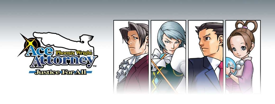 Phoenix Wright: Ace Attorney - Justice For All (DS)