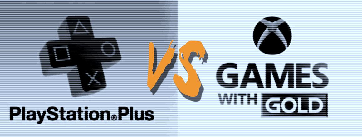 PlayStation Plus vs. Games with Gold - lipiec 2016