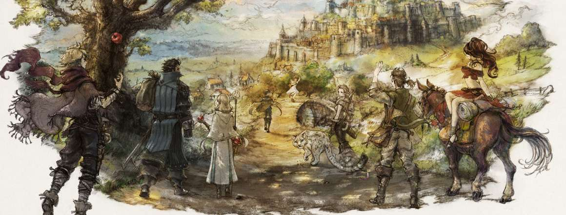 Octopath Traveler - recenzja PC-towego portu