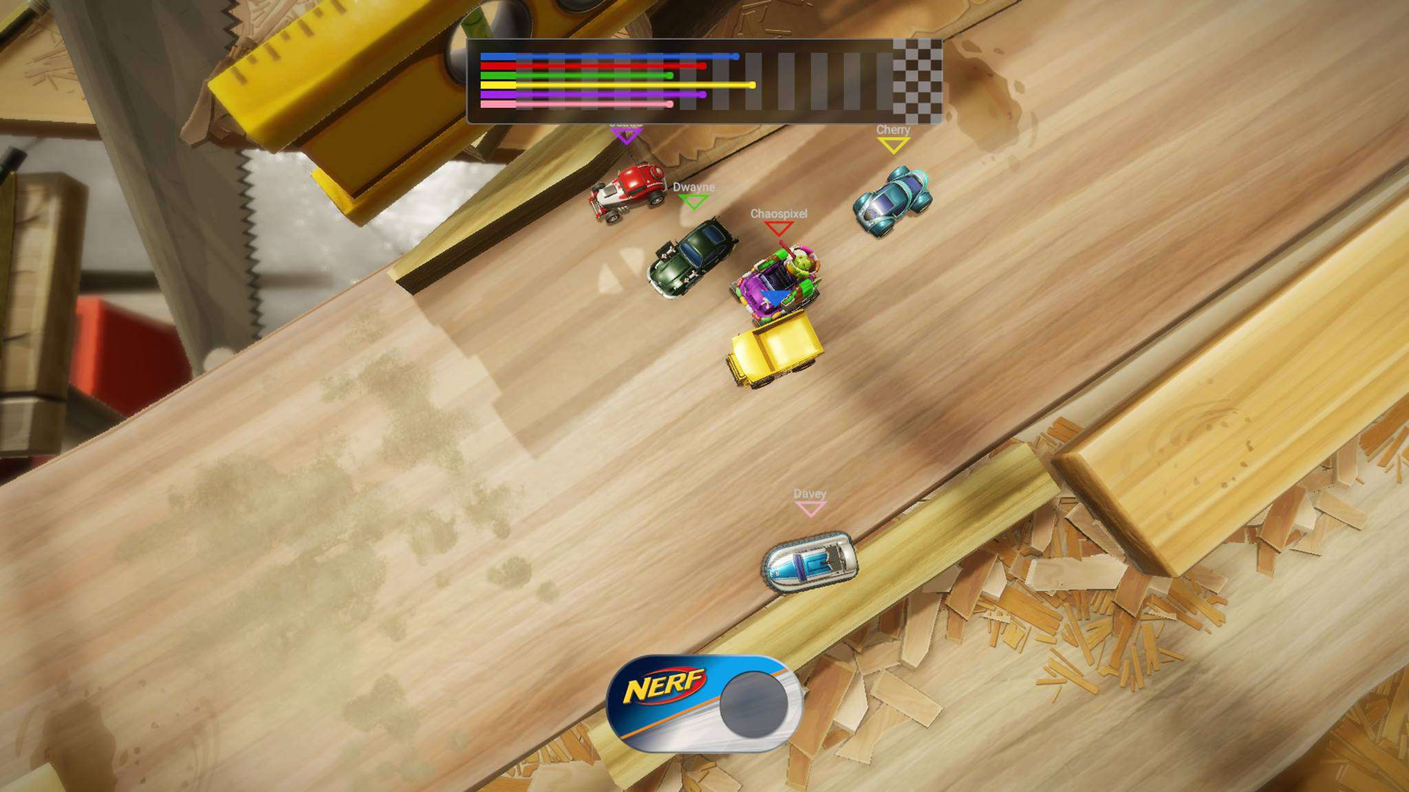 Micro Machines World Series - recenzja gry #11