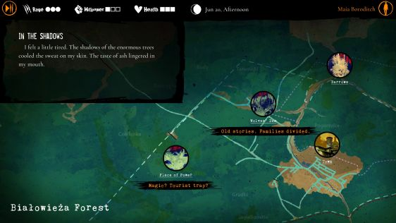 Werewolf: The Apocalypse - Heart of the Forest - recenzja gry #3