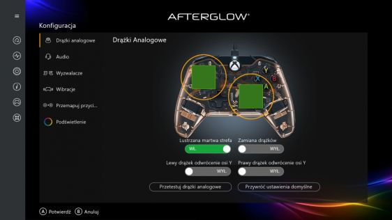 PDP Gaming Wired Controller i Afterglow Wired Controller – recenzja sprzętu  #39