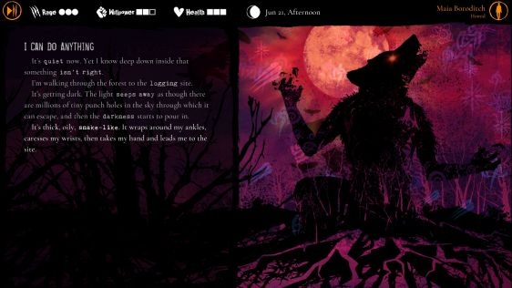 Werewolf: The Apocalypse - Heart of the Forest - recenzja gry #6