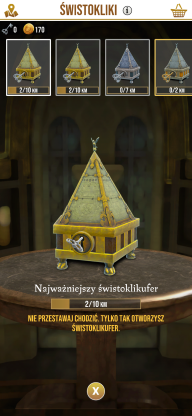 Harry Potter: Wizards Unite - świstokliki, świstoklikufry