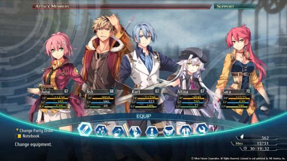 The Legend of Heroes Trails of Cold Steel IV - End of Saga – recenzja gry #40